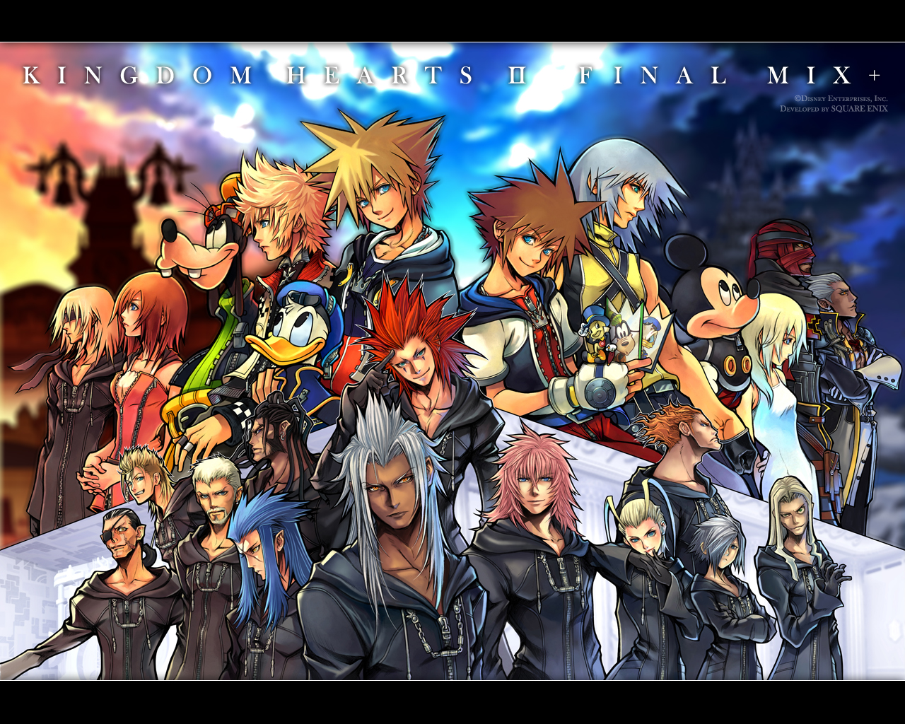 Square Haven News / Kingdom Hearts II: Final Mix on the ...